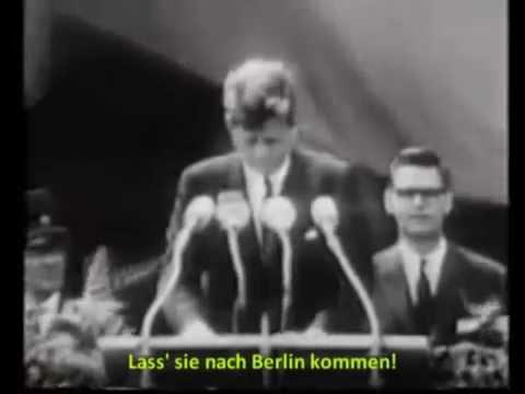 "John Fitzgerald Kennedy ""Ich bin ein Berliner"" (sous-titres FR)"