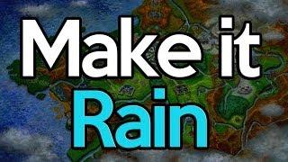 How To Make It Rain In Pokemon X And Y (Evolve Sliggoo