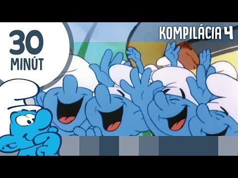 Šmolkovia - kompilácia 30 minút (SK)