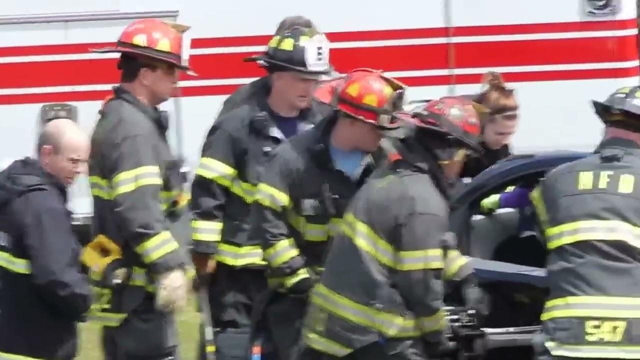 Field High School Mock Car Crash