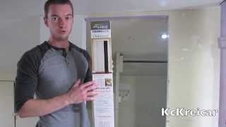 How To Install A Folding/accordion Closet Door