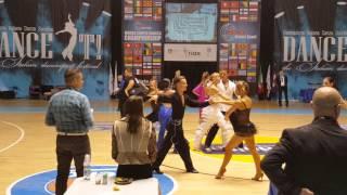 Чемпионат мира по дискофоксу 2015, Турин. быстрая композиция