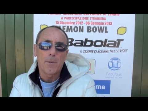 Silvano Papi al Lemon Bowl 2013