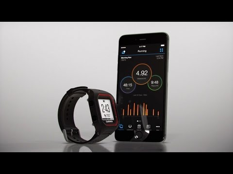 Forerunner 25: Pairing with a Smartphone