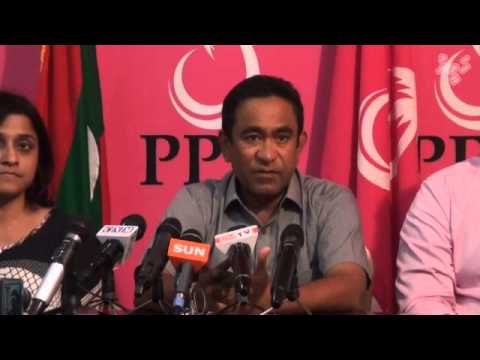 Yamin speaks to media about his recent visit to India