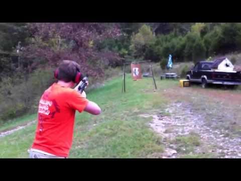 AK-47 Mayhem shooting  the ak47 wasr 10 63 rapid fire drill