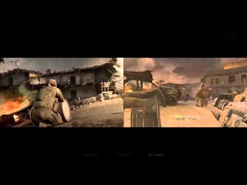 CoD4: Modern Warfare Remastered Gameplay Footage (Graphics C