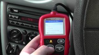 Autel AL319 Mini Engine Warning Light Reset Fault Code