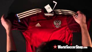 adidas Russia 2014 Home Soccer Jersey - Unboxing