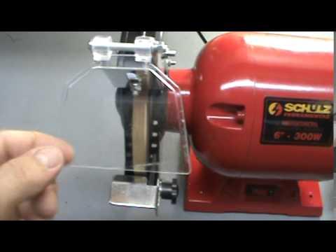 maquina para afiar alicate de cutícula com rebolo ultra fino ( alfacut )