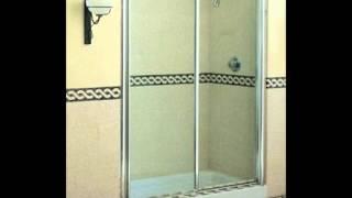 Limpiar la puerta de vidrio de  la ducha
