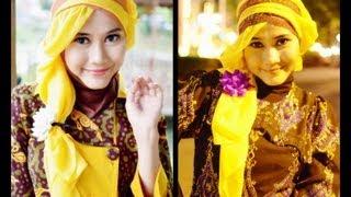 Tutorial Hijab Modern Paris Princess Rapunzel-Like By