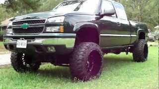 CHEVY 4X4 * JACKED * LIFTED * SUPER SWAMPERS * BAD ASS