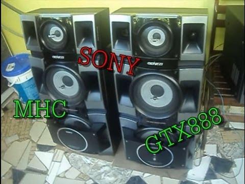 SONY MHC-GTX888 - ESSE TOCA MUITO!