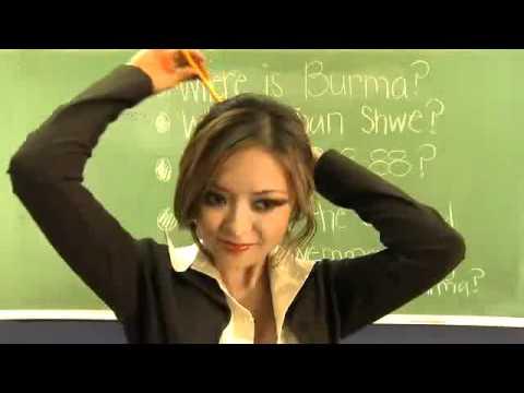 sexy teacher ever - hot hot- Myanmar Burma It Can_t Wait.