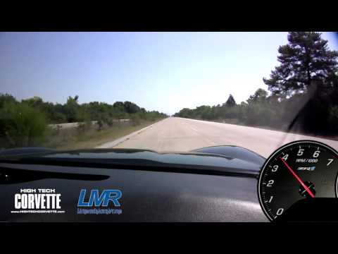 Z06 Corvette - 408ci solid roller - 582rwhp - Chasecam view