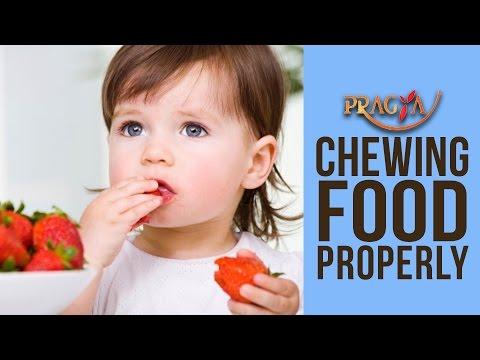 Chew Food Properly | Mrs. Rashmi Bhatia (Dietician)