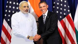 US President Barack Obama Meet PM Narendra Modi Video Live