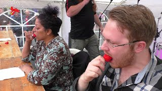 Chilli Eating Contest   Reading Chili Festival 2016
