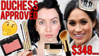 MEGHAN MARKLE MADE ME BUY IT! 👑 Testing the Duchess's Favorite Makeup...