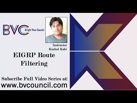 EIGRP Route Filtering (CCNP in Bengali Sample Video)