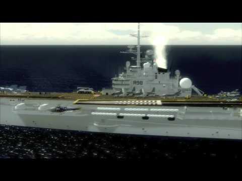 French Navy Aviation - FSX movie