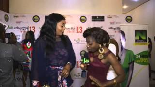 Nigezie TV interviews actors at Nollywood Movies Awards Nominees Party