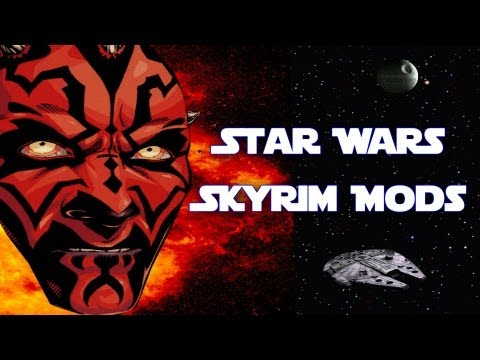 How to Become a Sith Lord in Skyrim (Star Wars Mod Spotlight) - loool wtf, Lots of laugh