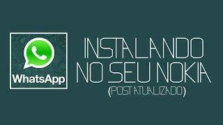 Como Baixar E Instalar O WhatsApp No Nokia C3 Java S40