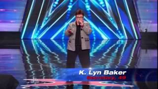America's Got Talent 2014 Auditions K. Lyn Baker