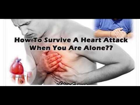 How to Survive a Heart Attack If You're Alone