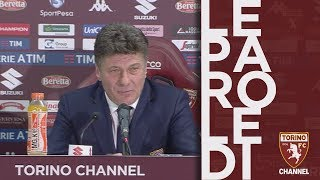 La conferenza di Mazzarri
