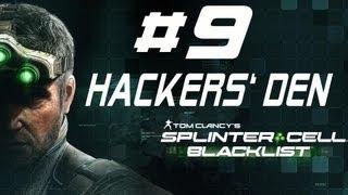 Splinter Cell Blacklist Perfectionist Walkthorugh 4E Mission GHOST HACKER'S DEN Part 9