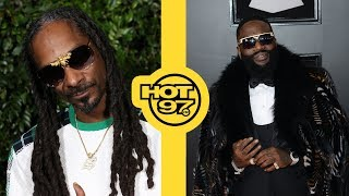 Rick Ross Names His Newborn Son 'Billion' + Snoop Dogg Biopic On The Way?!