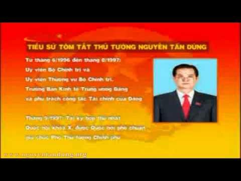 Tài sản nổi, lý lịch, hồ sơ của ông Nguyễn Tấn Dũng