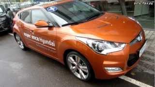 Hyundai Veloster Тест-драйв. Anton Avtoman.