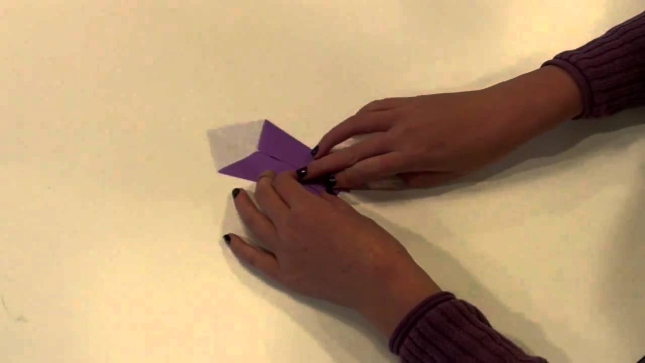 Origami swan how to make an origami swan youtube for Origami swan step by step