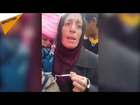 """امرأة هاربة من """"داعش"""" تروي معاناة ..."""