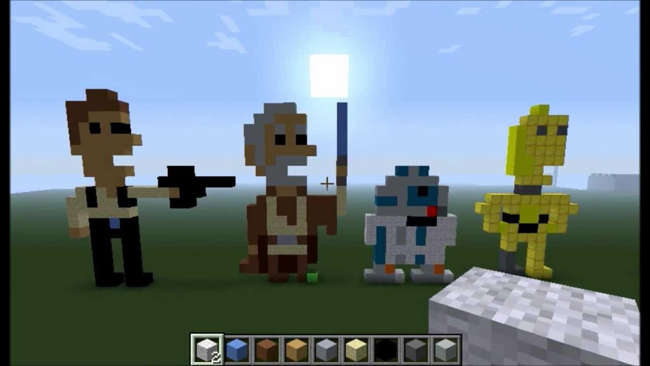 Pixel Art Star Wars Mi...
