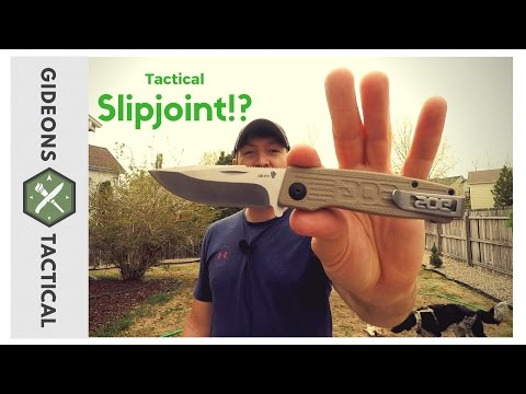 SOG Terminus: Tactical Slipjoint Knife!?