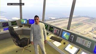La Torre De Control De La Base Militar Investigación