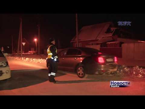 С начала года почти 30 водителей задержаны в Бердске в нетрезвом виде