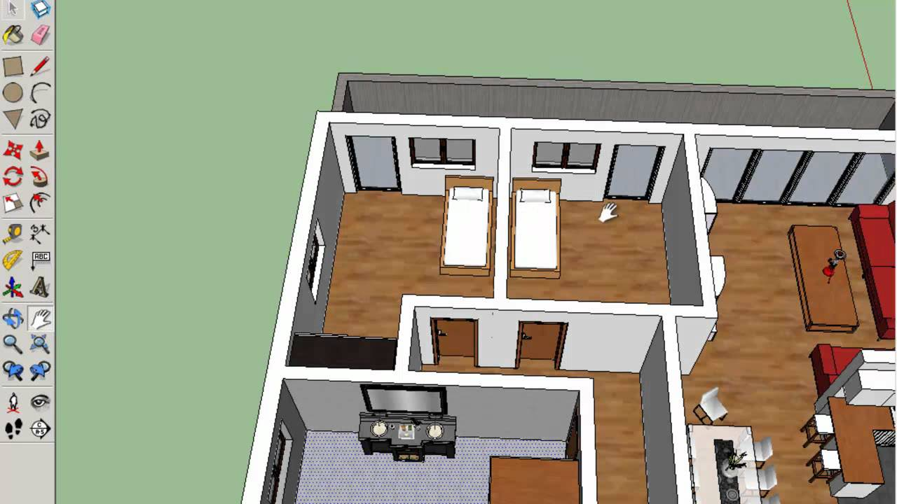 wohnungen grundrisse planen und zeichnen projekt. Black Bedroom Furniture Sets. Home Design Ideas