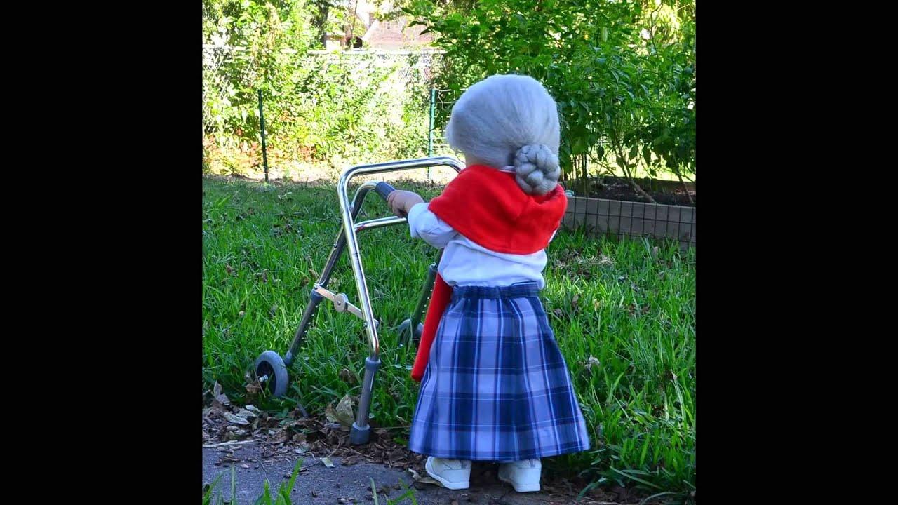 Decorating Ideas > Halloween 2013 Baby Costume Little Old Lady  YouTube ~ 185751_Halloween Costume Door Old Ladies