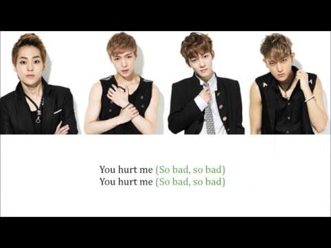 Lyrics EXO-M - HURT (傷害) [Pinyin/Chinese] COLOR CODED