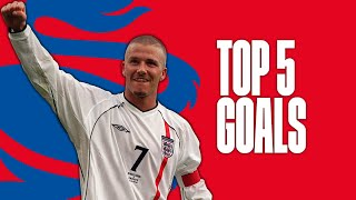 David Beckham's best England goals | Top Five