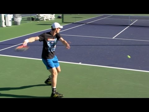 Andy Murray Forehand and Backhand 2 - Indian Wells 2013 - BNP Paribas Open
