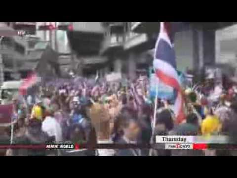 ► Thai protesters to launch massive demonstration
