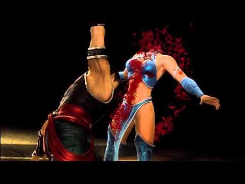 MK9 Kung Lao Fatality 1