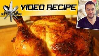 HOW TO ROAST CHICKEN VIDEO RECIPE